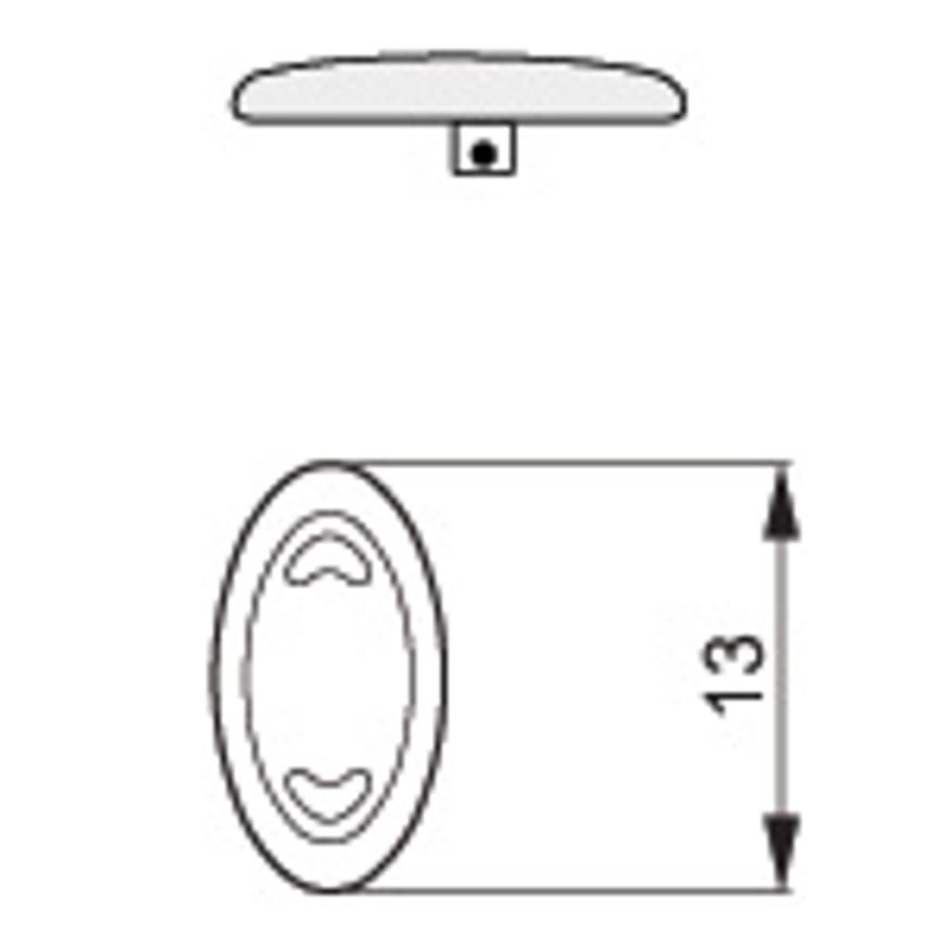 Picture of Silikon-Pads, symmetrisch, 13 mm, schraubbar, 100 Stück