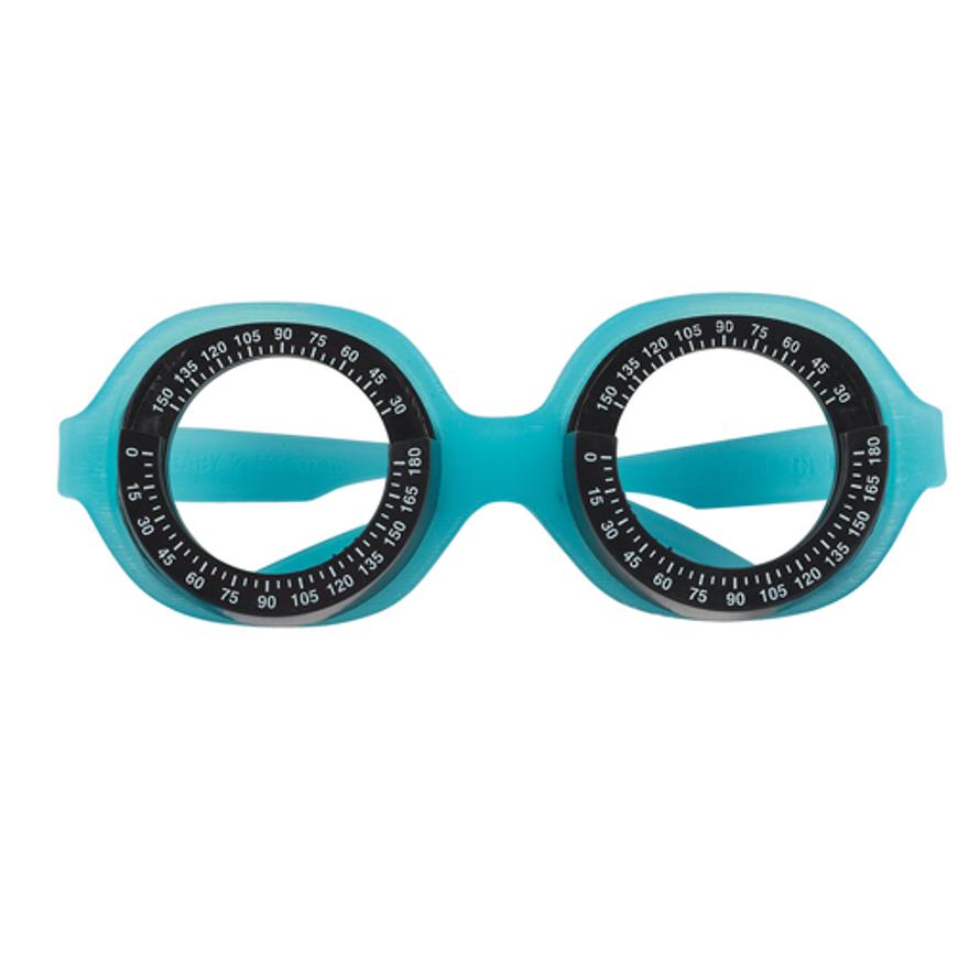 Picture of Baby-Messbrille, 41-16, blau, mit Halteband, Tabo-Standard, 1 Stück