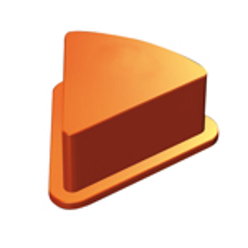 Picture of Brillen-Montageblock Smartybase, dreieckig, orange