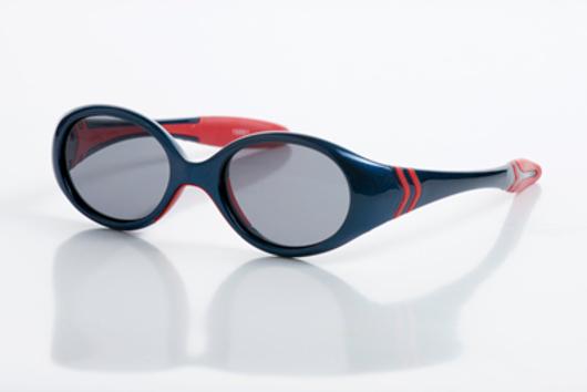 Picture of Baby-Sonnenbrille, 12 Monate, Gr. 38-15, blau/rot, verglasbar, 1 Stück