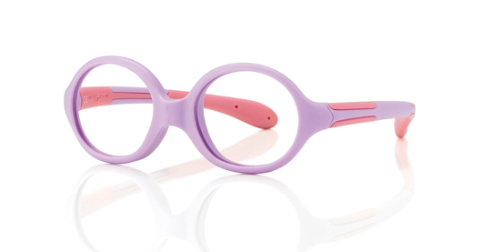 "Picture of Baby-Fassung ""Active Soft"", violett/pink, Gr. 36-14, inkl. Etui, 1 Stück"