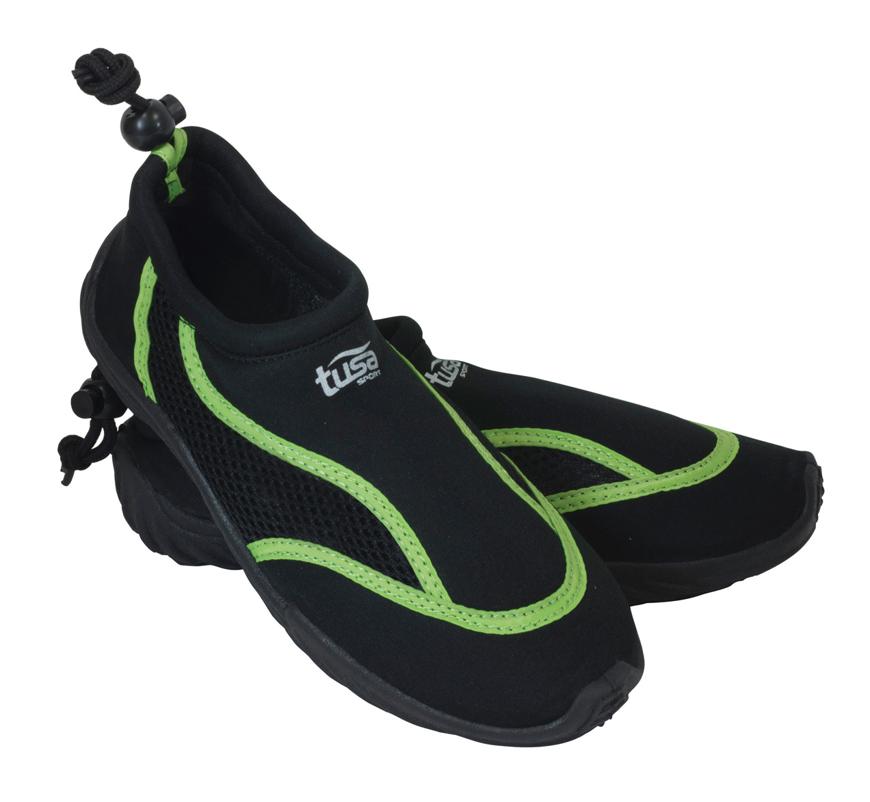 Picture of Aqua-Shoes aus Jersey mit Mesh-Einsätzen, schwarz, Größe 39, 1 Paar