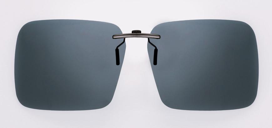 Picture of Vorhänger, polarisierend, grau, Gr. 67-12 aufsteckbar auf Kunststoff-Fassungen,