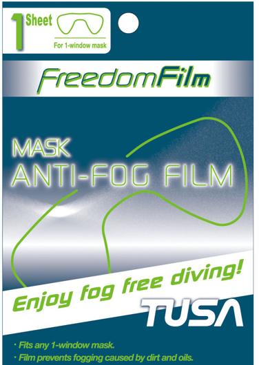 Picture of Tusa Sport Anti-Beschlagfolie für Einglas-Maske, 1 Paar