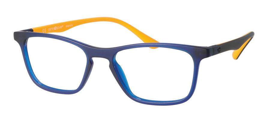 Picture of Grilamid-Fassung Teenager, blau/orange matt, Gr. 50-16, 1 Stück