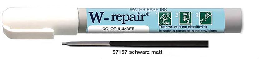 Picture of Reparatur-Stift für Fassungen, schwarz matt, 1 Stück