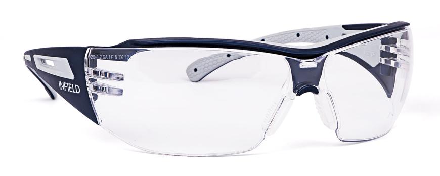 Picture of Schutzbrille VICTOR, blau/grau, 1 Stück