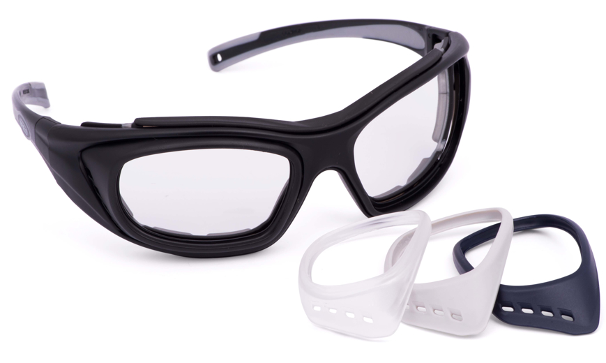 Picture of RX Verglasungs-Adapter, grau, für Schutzbrille COMBOR, 1 Paar