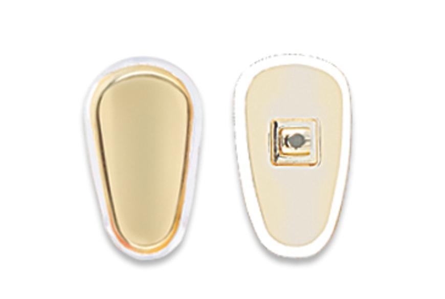 Picture of Silikon-Pads, mit Goldeinlage, 14,5 mm, zum Schrauben, 10 Stück