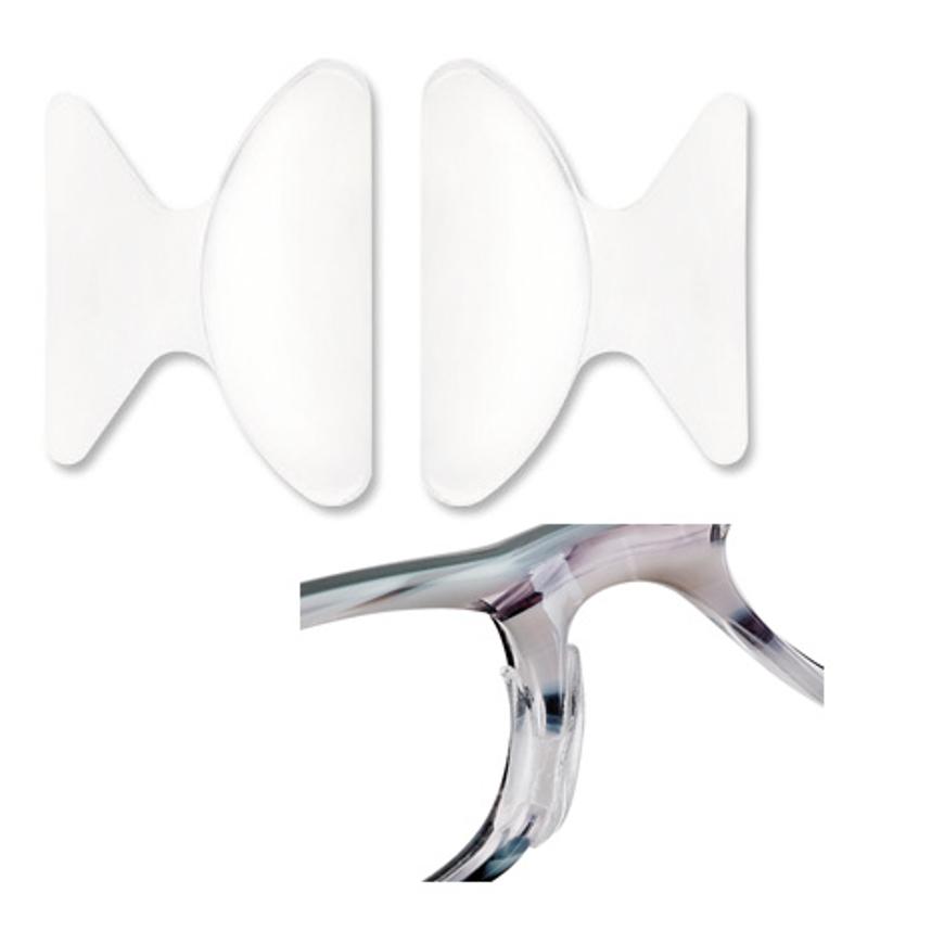 Picture of Silikon-Nasenpolster, Größe 18 mm, Dicke 1,5 mm, selbstklebend, 12 Stück