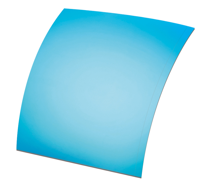 Picture of Polarisations-Folien UV400, blau verspiegelt, ~85 %, Ø 70x60 mm, 2 Stück