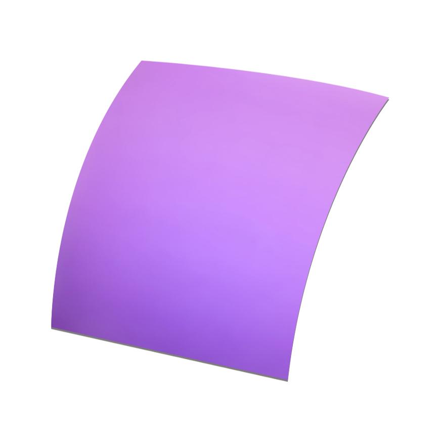 Picture of Polarisations-Folien UV400, violett verspiegelt, ~85 %, Ø 70x60 mm, 2 Stück