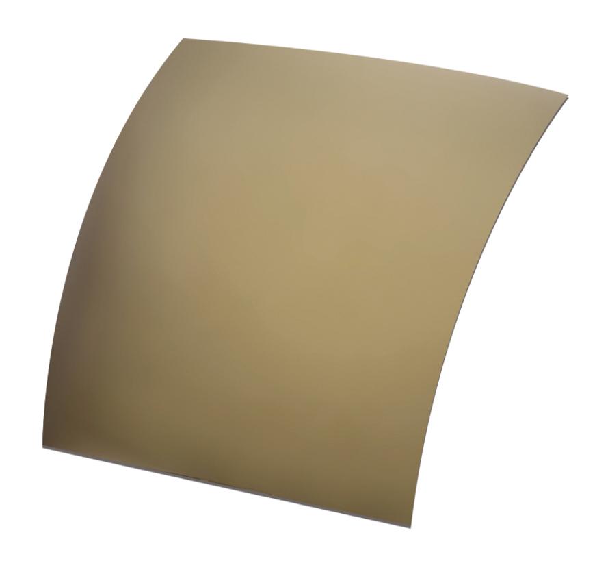 Picture of Polarisations-Folien UV400, gold verspiegelt, ~85 %, Ø 70x60 mm, 2 Stück