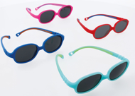 Picture of Kindersonnenbrille Active One, Gr. 41-15, aus TPE,Polycarbonat-Gläser grau ~85 %