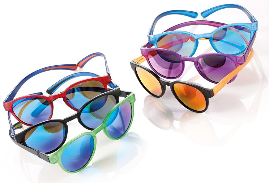Picture of Kindersonnenbrille aus TR90, Gr. 46-18, pol. Gläser verspiegelt
