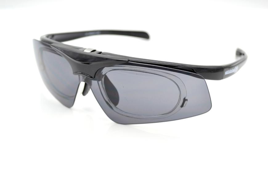 Picture of Insight One - Die Triple xXx Sportbrille mit Korrektionsadapter, schwarz