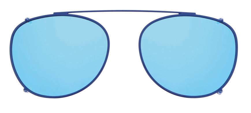 Picture of ClipOn mit Metallrand, polarisierende Gläser, Gr. 45-14, inklusive Etui