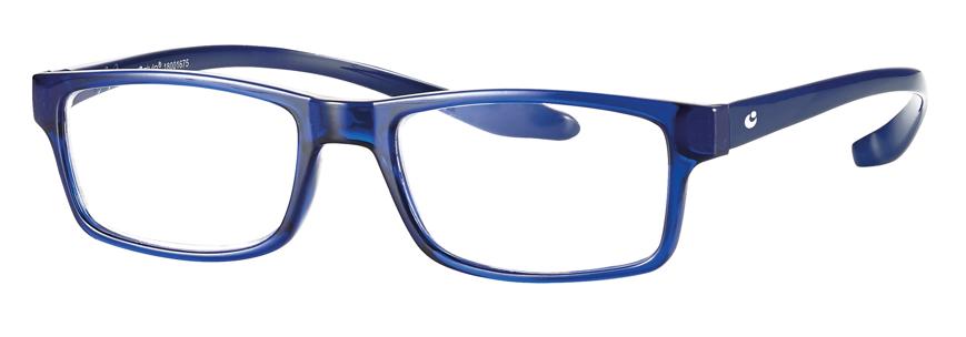 Picture of Kunststoff-Fertiglesebrille mit Blaulichtfilter, blau, Gr. 52-18