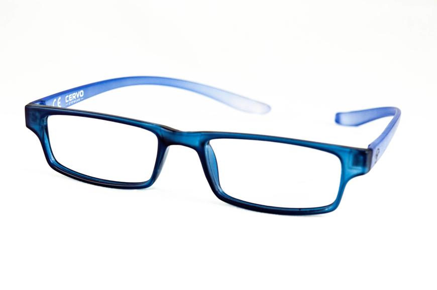 "Picture of Kunststoff-Fertiglesebrille ""Cervo"", dunkelblau/blau, Gr. 52-18, 1 Stück"