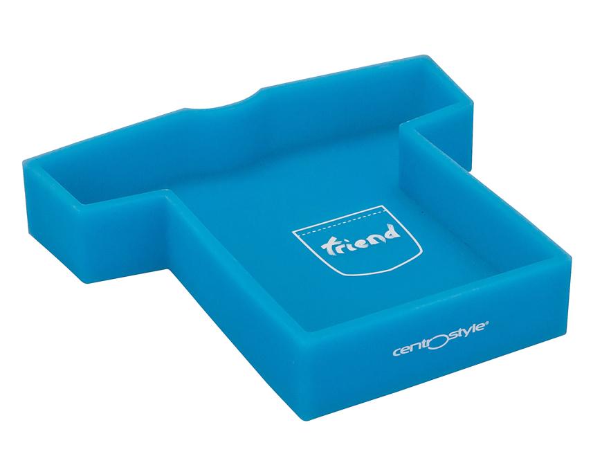 "Picture of Arbeitskasten ""Shirtbox"", aus Silikon, hellblau, 1 Stück"
