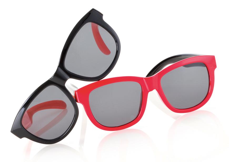 Picture of Kindersonnenbrille, zweifarbig, Gr. 45-15, 2 Farben, Polycarbonat-Gläser