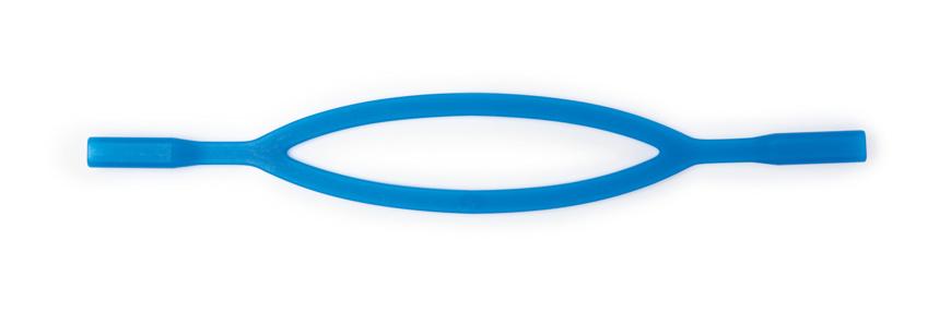 Picture of Silikonbänder, blau, (Ersatzbänder u. a. für Active One) 3 Stück
