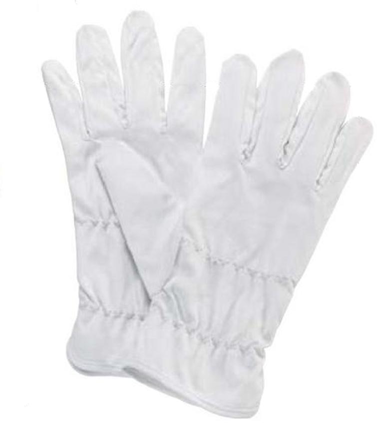 Picture of Mikrofaser Handschuhe, weiß, medium, 1 Paar