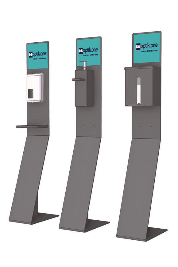 Picture of Multifunktionaler Ständer als OP-Maskenspender, 1 Stück