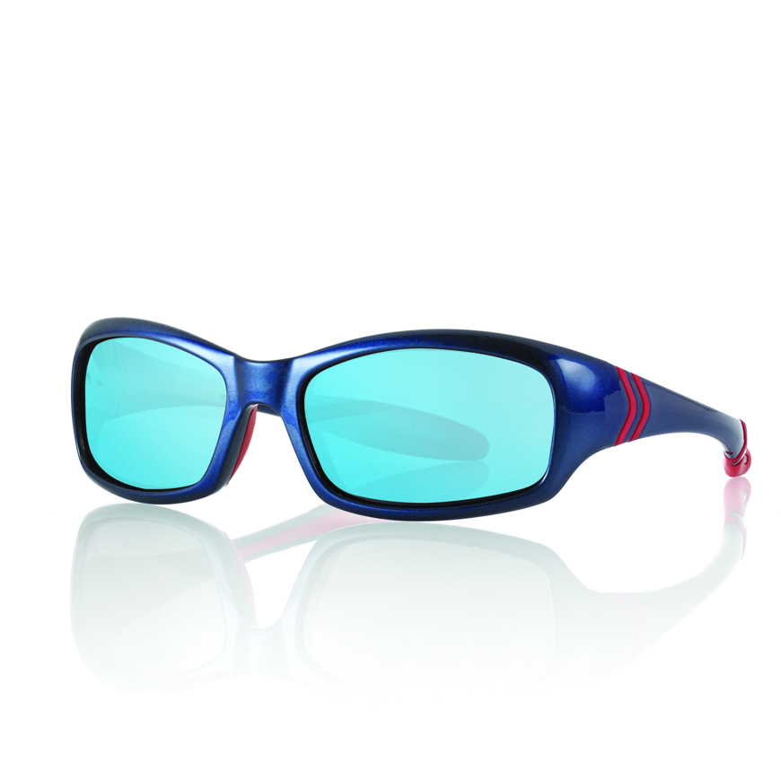 Picture of Kinder-Sonnenbrille, 4-5 Jahre, Gr. 48-15, blau/rot, 1 Stück