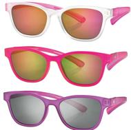 Picture of Teenager-Sonnenbrille, 3 verschiedene Farben, Gr. 49-16, pol. Gläser verspiegelt