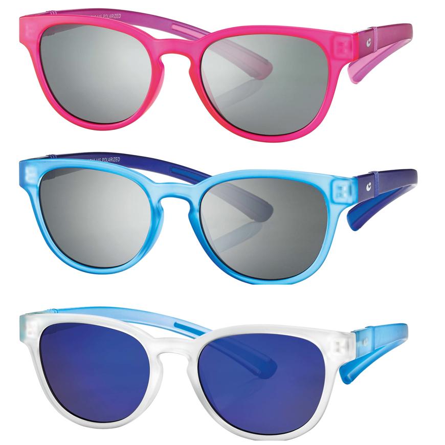 Picture of Kinder-Sonnenbrille, 3 verschiedene Farben, Gr. 44-16, Gläser verspiegelt