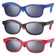 Picture of Kindersonnenbrille, zweifarbig, Gr. 48-16, in 3 Farben, Polycarbonat-Gläser grau