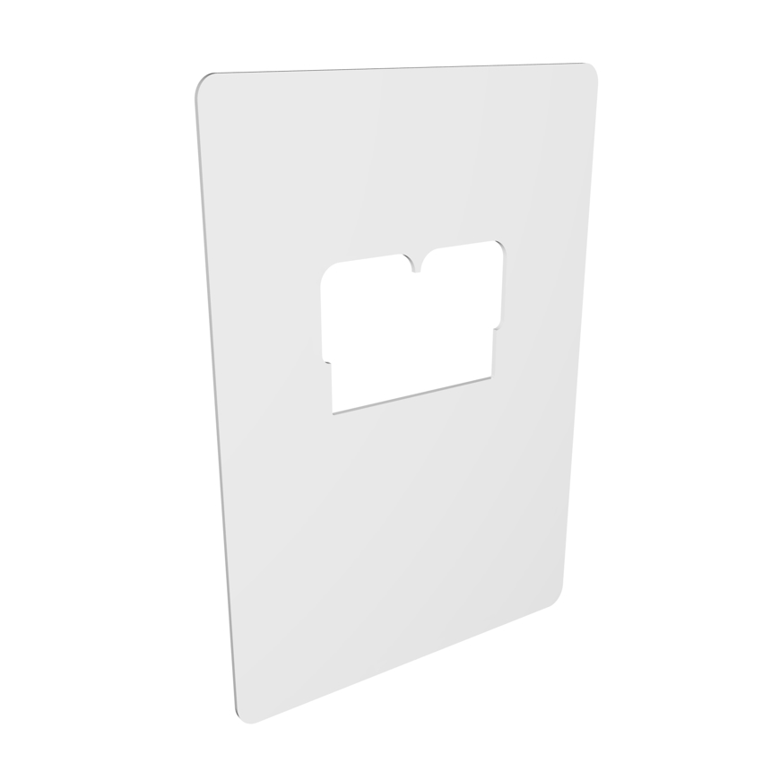 Picture of Schutzbarriere für Spaltlampen, aus Plexiglas transparent, 1 Stück