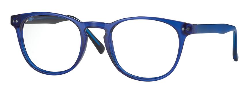 Picture of Kunststoff-Brille mit Blaulichtfiltergläser, Gr. 49-20, in 3 Farben