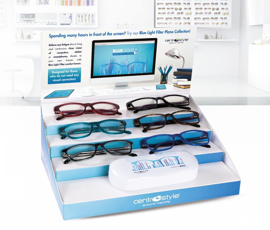Picture of Kunststoff-Brille mit Blaulichtfiltergläser, verschiedene Modelle, 12 Stück