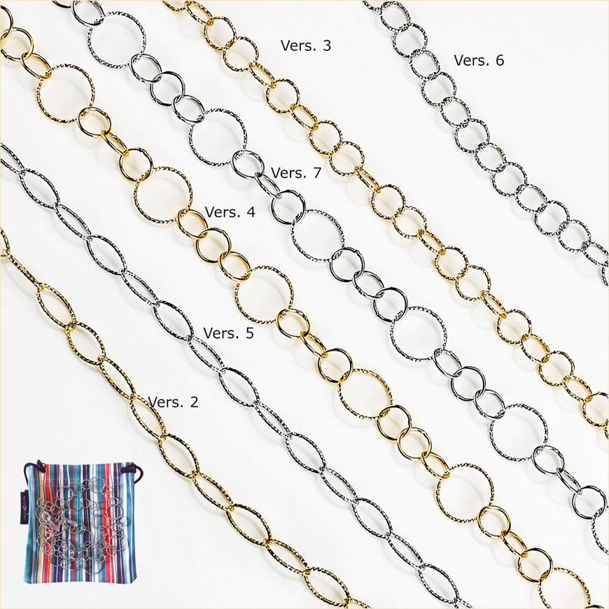 """Picture of Brillenketten """"Florence"""", Metall, verschiedene Modelle, 1 Stück"""