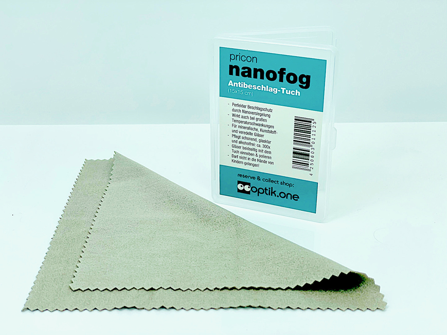 Picture of nanofog Antibeschlag-Tuch (PFAS-frei*), 15 x 15 cm, 1 Stück
