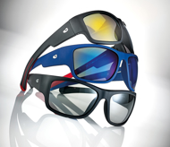 Picture of Sportive Herren-Sonnenbrille, Gr. 61-17, in 3 Farben