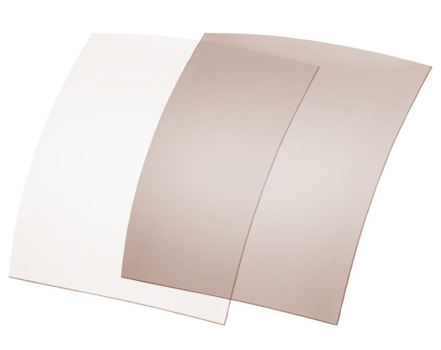 Picture of Polarisationsfolien, photochrom., 70x60 mm, hellgrau/braun, 20-80 %, 6 Stück
