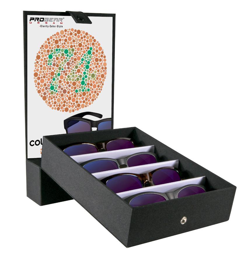 Picture of PROGEAR Urban Präsentations-Set, bestehend aus 4 Überziehbrillen