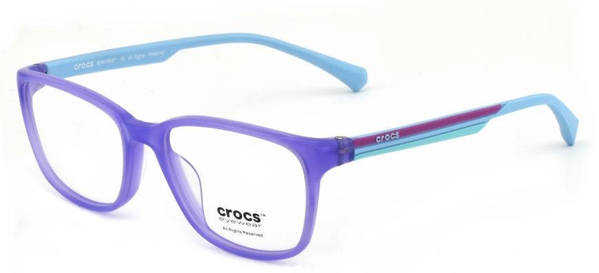 """Bild von Kinderfassung """"crocs"""", Acetat/Bügel Silikon, Gr. 47-15, in 2 Farben, inkl. Etui"""