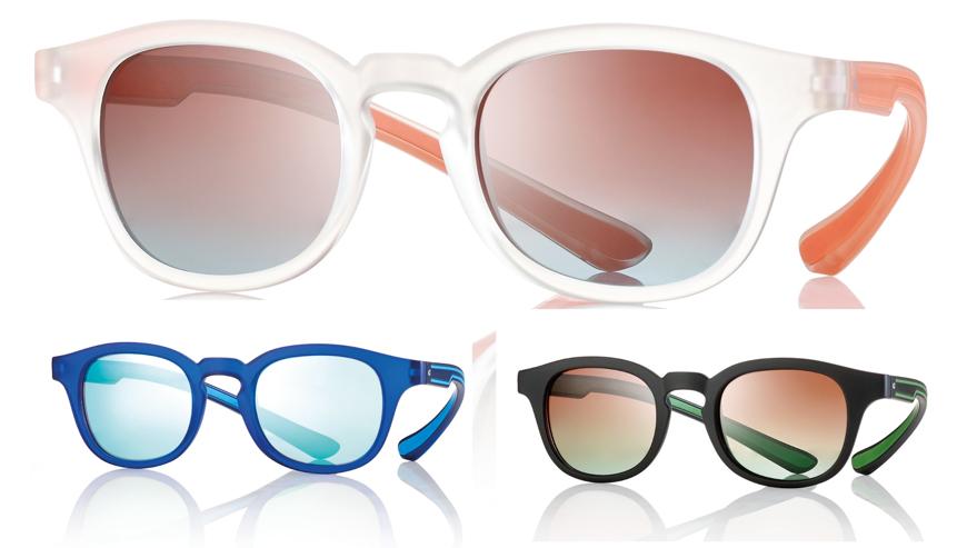Picture of Teenager Sonnenbrille aus TR90, Gr. 48-22, in 3 Farben, pol. Gläser