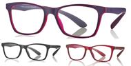 Bild von Kunststoff-Brille mit Blaulichtfiltergläser, für Teens, Gr. 49-16, in 3 Farben