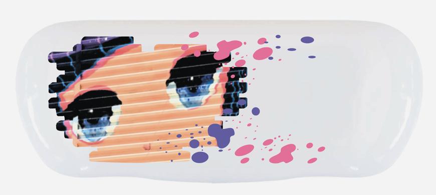 """Bild von Alu-Etuis, """"Animation Mädchen"""", 162 x 66 x 40 mm, 10 Stück"""