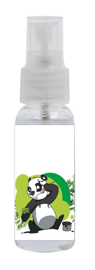 """Picture of Sprayclean 25, """"Cartoon Panda"""", geruchsneutral, 48 Sprühflaschen à 30 ml"""