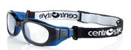 Picture of Sportschutzbrille mit abnehmbaren Bügeln und Kopfband, in 3 Farben, Gr. 47-23