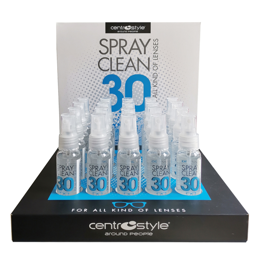Picture of Spray-Clean 30, geruchsneutral, 48 Sprühflaschen à 30 ml